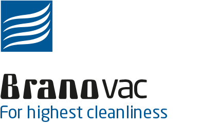 Logo BRANOvac Dust filters for households and industry