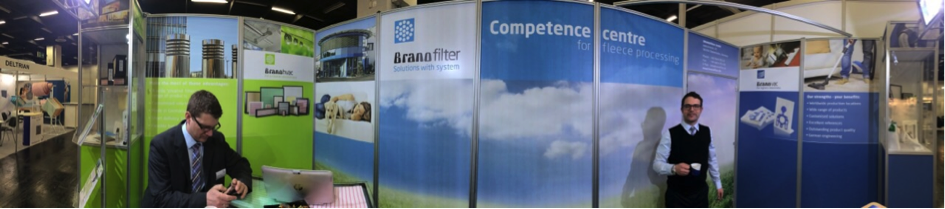 BRANOfilter – First-class performance at Filtech 2015 in Cologne
